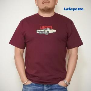 LAFAYETTE SOMEBODY'S NIGHTMARE TEE ラファイエットサムバディズ ナイトメア Tシャツ バーガンディ|lay-z-boy