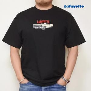 LAFAYETTE SOMEBODY'S NIGHTMARE TEE ラファイエットサムバディズ ナイトメア Tシャツ 黒|lay-z-boy