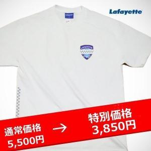 LAFAYETTE MOURNING BADGE TEE ラファイエット モウニング バッジ Tシャツ 白|lay-z-boy