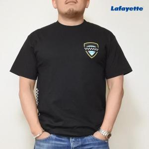 LAFAYETTE MOURNING BADGE TEE ラファイエット モウニング バッジ Tシャツ 黒|lay-z-boy