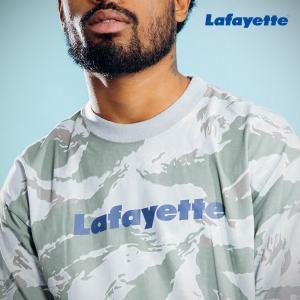LAFAYETTE CAMO PATTERN Lafayette LOGO TEE ラファイエット カモパターン ロゴTシャツ TIGER CAMO|lay-z-boy