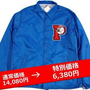★PROPS STORE コーチジャケット UNIVERSITY COACH JKT BLUE lay-z-boy