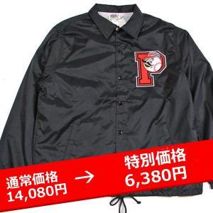 ★PROPS STORE コーチジャケット UNIVERSITY COACH JKT BLACK 黒 lay-z-boy