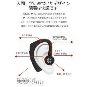 ワイヤレス イヤホン Bluetooth イヤ...の詳細画像2