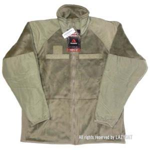 米軍 ECWCS Gen3 Level3 フリースジャケット薄茶 タン 新品。紙タグ付き。 ポーラテ...
