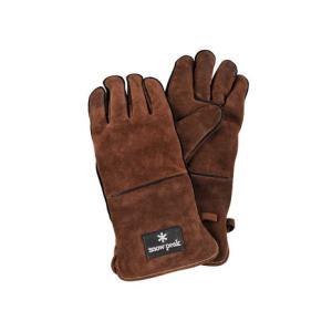 スノーピーク(snow peak) ファイヤーサイドグローブ ブラウン Fireside Glove...