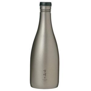 スノーピーク(snow peak) 酒筒 (さかづつ) Titanium Sake Bottle Titanium TW-540 食器 キャンプ バーベキュー (Men's、Lady's)|lbreath