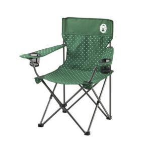 コールマン(Coleman) リゾートチェア グリーンドット 2000026735 折りたたみ椅子 ...