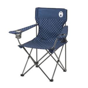 コールマン(Coleman) リゾートチェア ネイビードット 2000026736 折りたたみ椅子 ...