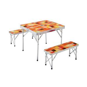 コールマン(Coleman) ナチュラルモザイクTMファミリーリビングセット ミニプラス テーブル ...