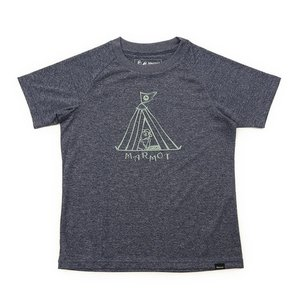 マーモット(Marmot) ジュニア テント 半袖Tシャツ MOT-S2350K CNVY (Jr)