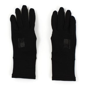 カリマー(karrimor) PS GLOVE 82703A171-Black インナーグローブ|lbreath