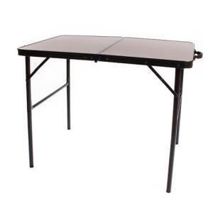 ホールアース(Whole Earth) フォルディングテーブル 90×60cm WE27DB18 キャンプ アウトドア レジャー (Men's、Lady's、Jr)|lbreath