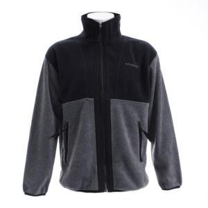 ●Xebio限定のフリースジャケット。襟の高さを通常のフリースジャケットよりやや高めにセットし、ゆと...