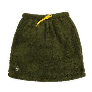 チャムス CHUMS フリースエルモスカート CH18-1080 Khaki Lady's の商品画像 ナビ