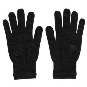 カリマー(karrimor) wool logo グローブ 5G04UAI1-Black (Men'...