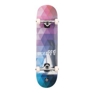 イナフ(Enuff) GEOMETRIC 8 スケートボード コンプリート スケボー ENU3030 Purple 8インチ (メンズ、レディース)|Victoria L-Breath PayPayモール店