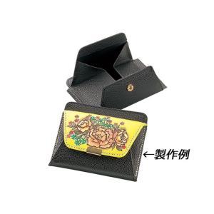 クックパース 黒 9×11cm【メール便対応】 [クラフト社]  レザークラフト半製品 中パーツ|lc-palette