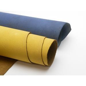 牛床(ルガトショルダー)厚 全13色 約90デシ(価格固定) 1.4mm前後 ショルダー[ぱれっと]  レザークラフト半裁 1枚革|lc-palette
