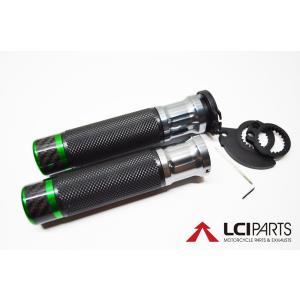 CNCハンドルグリップ カーボンバーエンド(Gr) VTR1000ファイアーストーム|lciparts