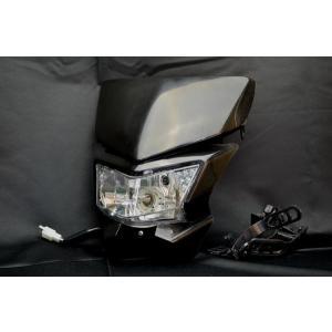 ヘッドライトカウルBWR250SBランツァRMXDT200FTR223Dトラッカー|lciparts