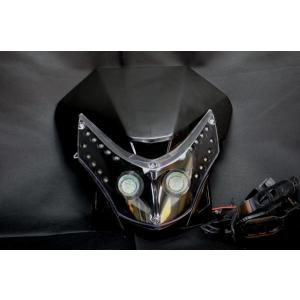 LEDヘッドライトB DR-ZTTRセローCRF250CRF50KSR110KDX250|lciparts