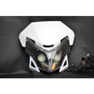 LEDヘッドライトW WR250SBランツァRMXDT200FTR223Dトラッカー|lciparts