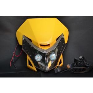 LEDヘッドライトY DR-ZTTRセローCRF250CRF50KSR110KDX250|lciparts