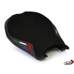 848 1098 1198 [LUIMOTO] ライダーシートカバー (Team Italia Suede 1053101) lciparts