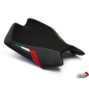 RSV4 2009-2015 [LUIMOTO] ライダーシートカバー (Team Italia Suede 9011102) lciparts
