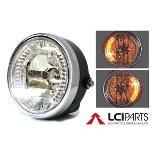 汎用 ヘッドライトLED モンキー エイプ Dunk ジョルノ|lciparts
