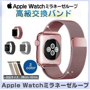 高級ミラネーゼの素材!Apple Watch 38mm /4...