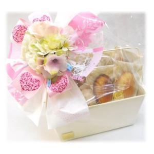フラワーギフトピンクブーケ 個包装 詰め合わせ 贈り物に|le-coffret