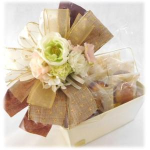 フラワーギフトホワイトブーケ 個包装 詰め合わせ 贈り物に|le-coffret