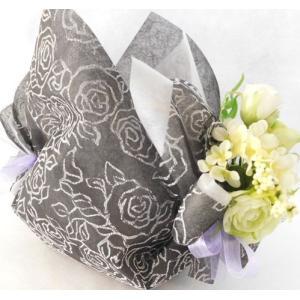 フラワーギフトお供え花バスケットエレガント 個包装 詰め合わせ 贈り物に|le-coffret