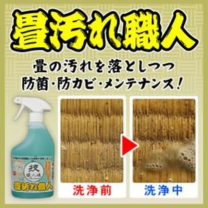 畳用洗剤 畳専用 畳のカビ 畳汚れ職人 技職人魂 500ml 即納|le-cure