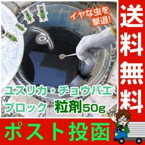 ユスリカ・チョウバエブロック 粒剤 50g お風呂場やトイレに大発生する ユスリカ チョウバエ 駆除 対策 退治に チョウバエ駆除剤 梅雨対策 メール便 送料無料|le-cure