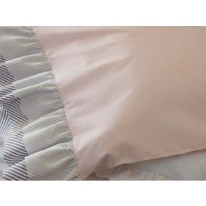 枕カバー ピローケース ピンク Wフリル|le-jeudi|02