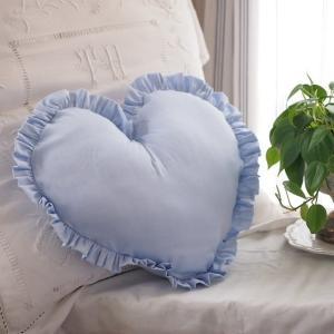 ブルー ハート クッション blue heart cushion|le-jeudi