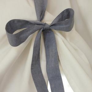 ロールアップ カーテン ミニ 短丈  リボン 窓の上飾り   綿100 日本製   |le-jeudi|03