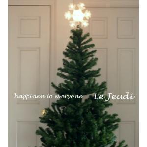 クリスマス ツリートップ スノーフレーク|le-jeudi