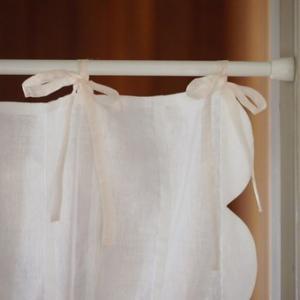 カーテン/洋風 のれん・スカラップ 間仕切り パネルカーテン  長さ170cm |le-jeudi|04