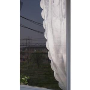 カーテン/洋風 のれん・スカラップ 間仕切り パネルカーテン  長さ170cm |le-jeudi|05