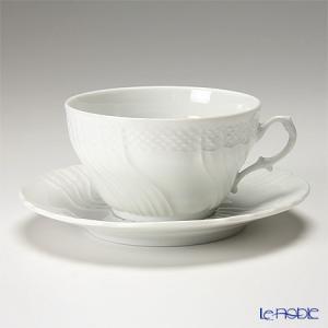 リチャード・ジノリ ベッキオホワイト ティーカップ&ソーサー 240cc 白い器|le-noble