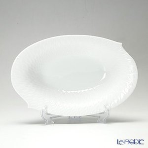 マイセン 波の戯れホワイト 000001/29281 オーバルディッシュ 28cm