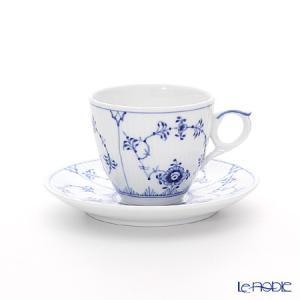 ロイヤルコペンハーゲン ブルー フルーテッド プレイン モカカップ&ソーサー 100ml 1101053/1017172|le-noble