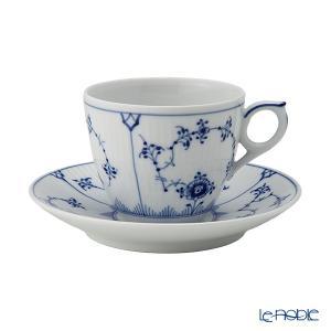 ロイヤルコペンハーゲン ブルー フルーテッド プレイン コーヒーカップ&ソーサー 160cc 1101071/1017173|le-noble