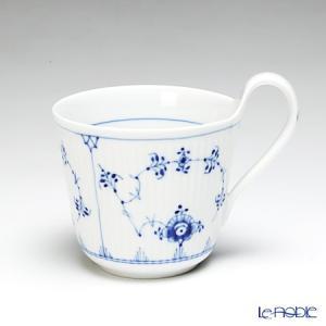 ロイヤルコペンハーゲン ブルー フルーテッド プレイン ブレックファーストカップ(ハイハンドル) 1101090