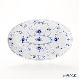 ロイヤルコペンハーゲン ブルー フルーテッド プレイン オーバルディッシュ 23.5×15cm 1101356/1016759 皿|le-noble
