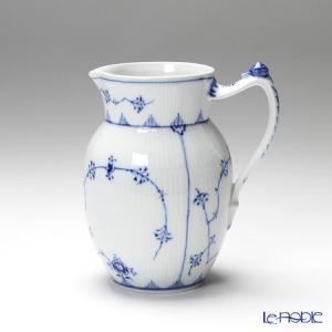 ロイヤルコペンハーゲン ブルー フルーテッド プレイン ミルクジャグ 1101442/1017188|le-noble